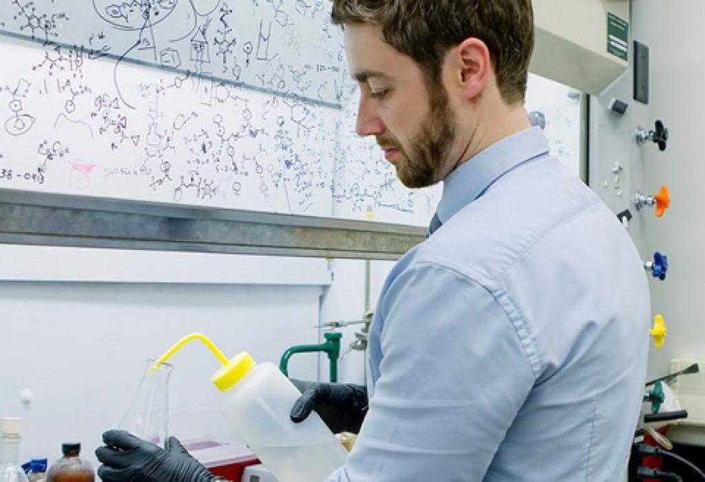 Patrick Gunning, a principal investigator at U of T Mississauga's Centre for Medicinal Chemistry
