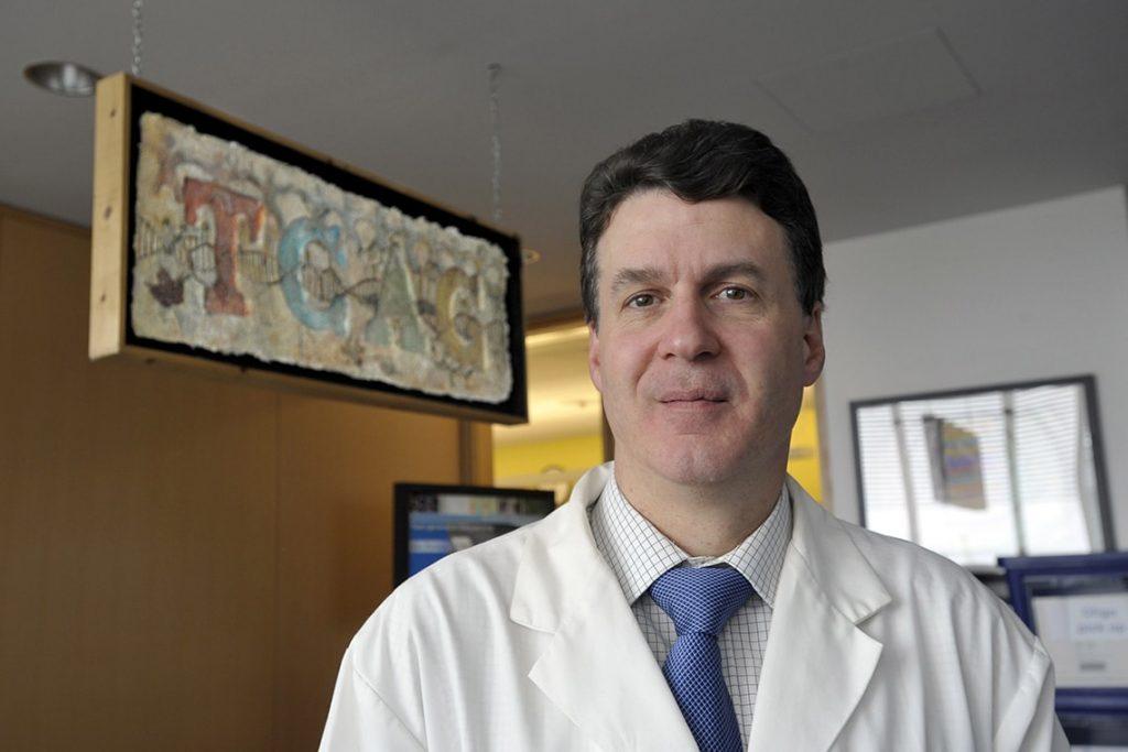 A photo of Stephen Scherer, director of U of T's McLaughlin Centre