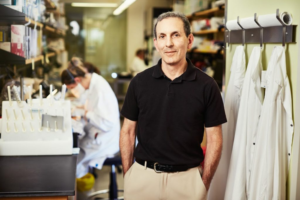 Dr. Daniel Drucker was awarded the EASD-Novo Nordisk Foundation Diabetes Prize for Excellence (photo courtesy of U of T Medicine)